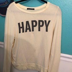 Wildfox Happy Sweater